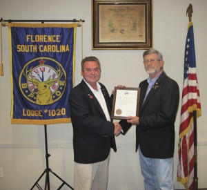 CB Anderson honored  as Citizen of the year