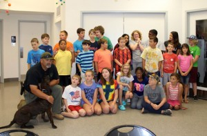 Youth learn about forensics attending ScienceSouth camp