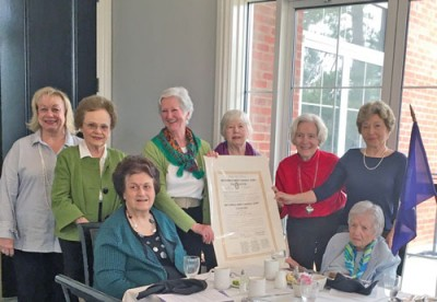 Pedee Chapter Colonial Dames 17th Century meeting