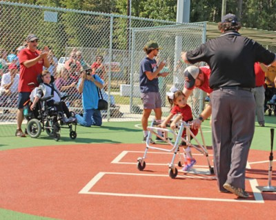 Miracle League's 'Field of Dreams' now a reality