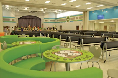 Delmae Heights Elementary  shows off new school