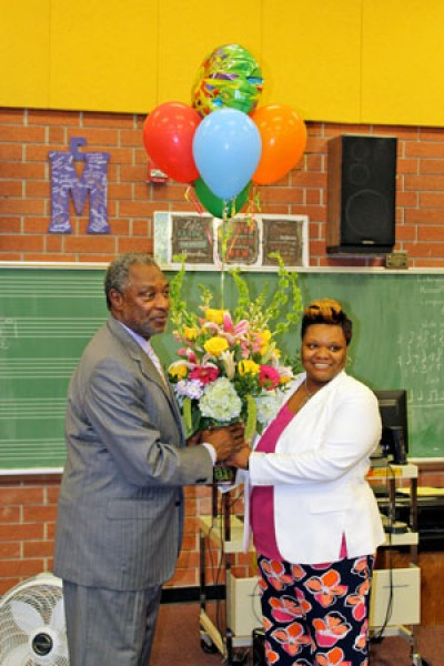 Wilson High choral instructor named District Teacher of the Year