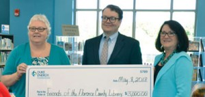 Library receives grant