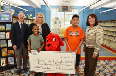 Library gets Duke Energy grant