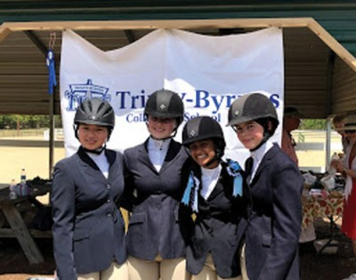 Equestrian team takes wins