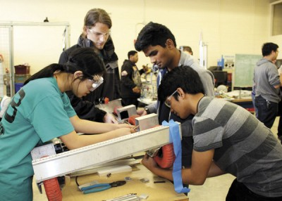 Technomancers share passion for robotics