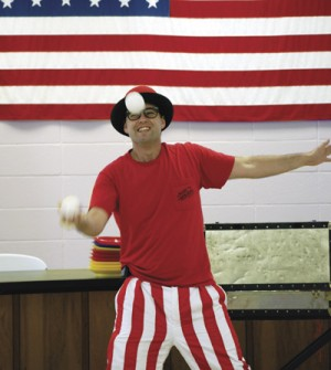 Flow Circus coming to the library next week
