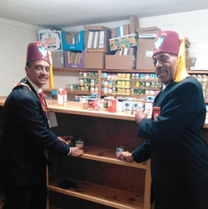 Knights of Pythias donate to charities