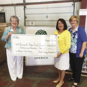 Duke Energy Foundation grant supports Harvest Hope