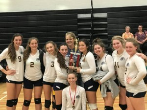 TKA's JV and middle school undefeated in volleyball