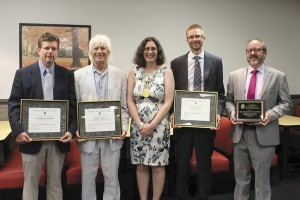 FMU professors recognized for excellence