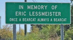 Rock Hill sign honors memory  of Florence native Eric Lessmeister