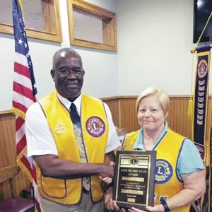 Sorenson is named  Evening Lion of the Year