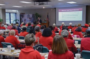 McLeod Health goes red for Women's Day