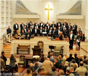 Men's Choral Society to present their Fall/Holiday Concert
