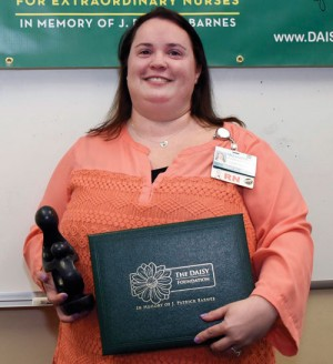 McLeod RN Nikki Horne receives DAISY Nursing Award