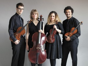 Starr Ward Chamber Series will feature PUBLIQuartet