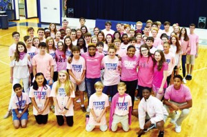 Trinity-Byrnes goes pink for breast cancer awareness