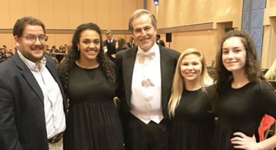 Three South Florence Students  perform with All-National Chorus