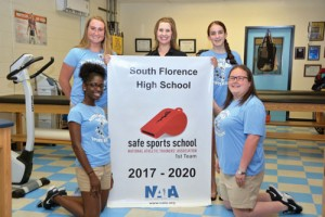 South Florence High, McLeod Sports receive Safe Sports School Award