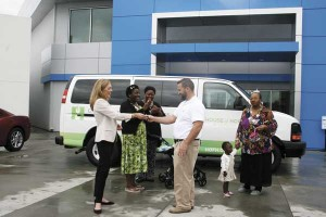 House of Hope blessed with new van