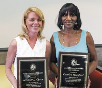 FMU honors four staff