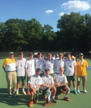 WF Tennis Team finishes season as Class 5A State runnerup