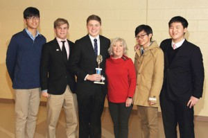 Math team take wins at SCISA competition