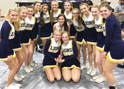 TKA  cheerleader squads take first place wins
