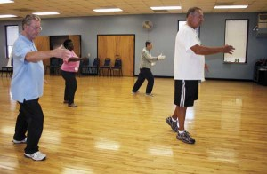 Tai chi offers gentle exercise, stretching