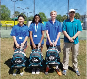 Three Florence teens honored at Volvo Car Open