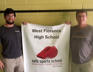 West Florence High receives Safe Sports School Award