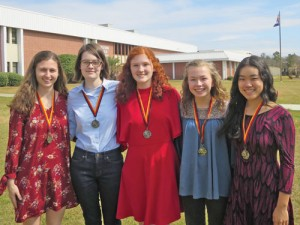 Wilson IB students excel on national German exams