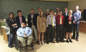 TKA student named Most Outstanding Attorney  Team at Youth in Government Conference