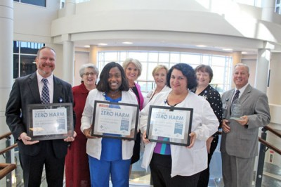 Carolinas Hospital earns four Zero Harm Awards