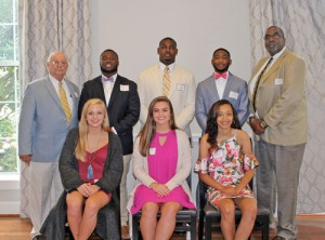 Two student athletes honored  as FSD1 Athletes of the Year