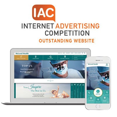 McLeod Health wins international award for website
