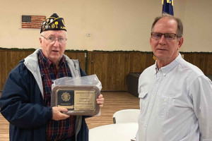 Post 1 Legionnaire of the Year Award
