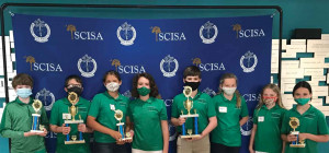 Participants in the recent 2021 South Carolina Independent School Association State Science Fair.