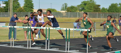 Knights sweep city track championships