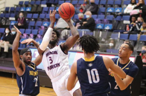 FMU Basketball: Patriots unable to cool down red-hot Bearcats