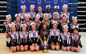 CHEERLEADERS WIN STATE TITLE