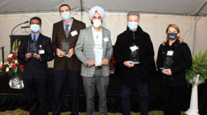 Physicians honored as 'Pillars'