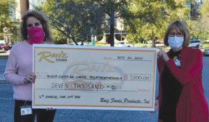 Ruiz Foods raises $7,000 for McLeod's HOPE Fund