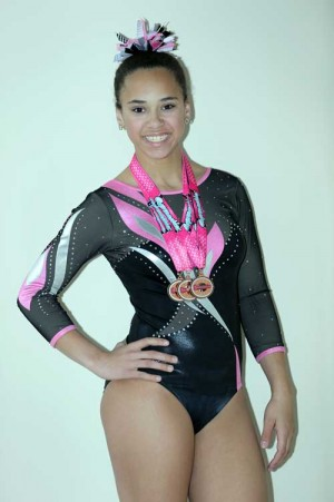 Florence Gymnasts compete at Gamecock Invite