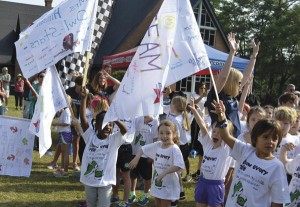 All Saints school conducts Boosterthon Fun Run