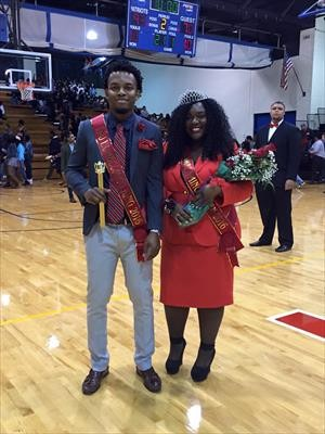2016 Homecoming King and Queen Crowned