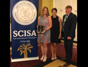 All Saints' Moeckel named SCISA Teacher of the Year