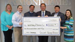 United Way of Florence County receives $10,000 donation