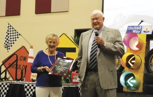 Aycocks receive Ashpy Lowrimore Award at United Way Annual Campaign Luncheon